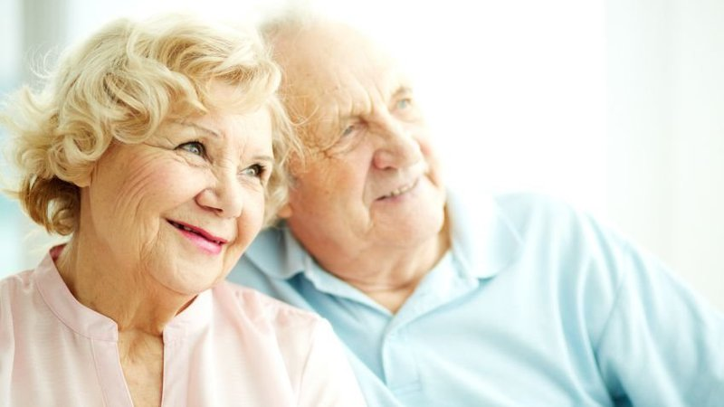 An older couple is happy they chose CoxHealth as their heart care providers.
