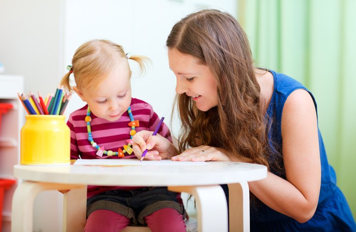 A teenager learns how to be an effective babysitter by attending CoxHealth's Babysitting Basics class.