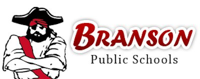 Branson Schools logo.
