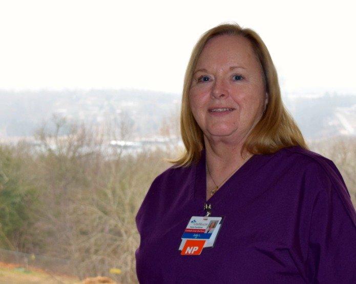 Judith Lewallen has joined CoxHealth Center Shell Knob.