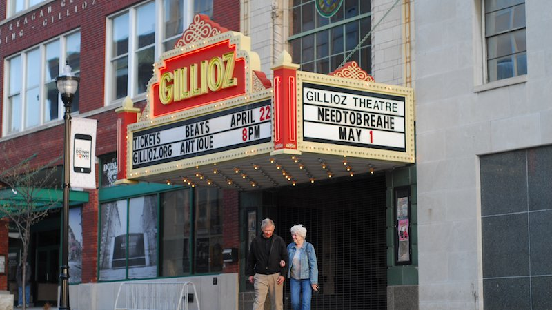 The Gillioz theater in downtown Springfield is part of our community.