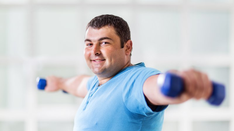 A man is satisfied with the results of weight loss surgery from CoxHealth's center for plastic surgery.