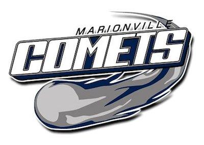 Marionville schools logo.