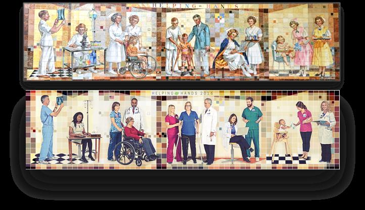 Both murals