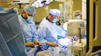 CoxHealth physicians perform a complex STEMI procedure.